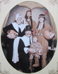 A blended pilgrim family